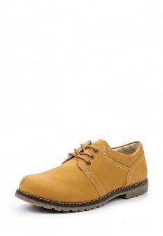Женские коричневые осенние ботинки из нубука
