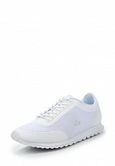 Женские белые кроссовки Lacoste