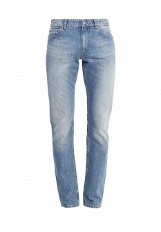 Мужские голубые джинсы