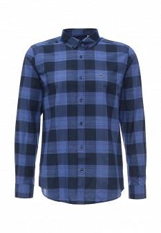Мужская синяя рубашка Lacoste