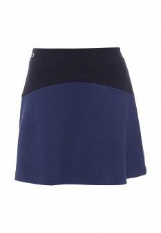 Синяя осенняя юбка Lacoste