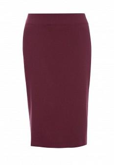 Фиолетовая осенняя юбка Levall