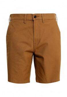 Мужские коричневые шорты Levi