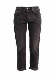 Женские серые осенние джинсы 501
