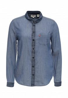 Синяя осенняя блузка Levi