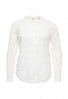 Белая осенняя блузка Levi