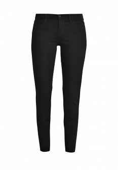 Женские черные джинсы скинни