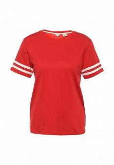 Женская красная футболка Levi