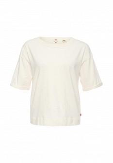 Женская белая футболка Levi