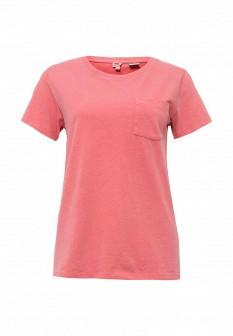 Женская розовая футболка Levi