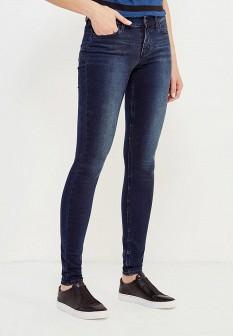 Женские синие осенние джинсы skinny
