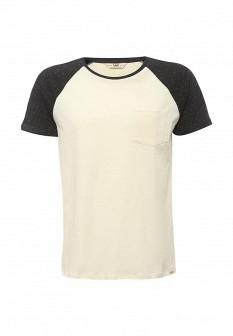 Мужская бежевая футболка LEE