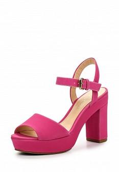 Женские босоножки на каблуке на платформе
