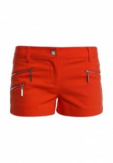 Женские оранжевые осенние шорты