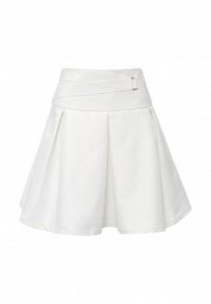 Белая осенняя юбка Love Republic