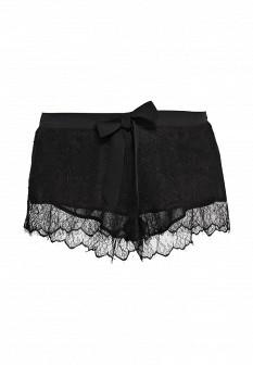 Женские черные осенние шорты