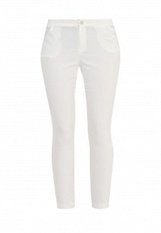 Женские белые брюки Love Republic