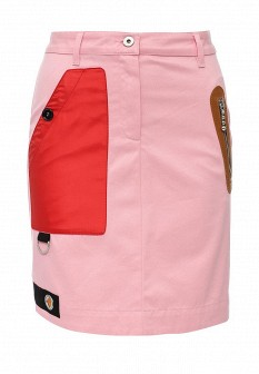 Розовая юбка Love Moschino