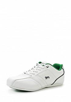 Мужские белые осенние кожаные кроссовки