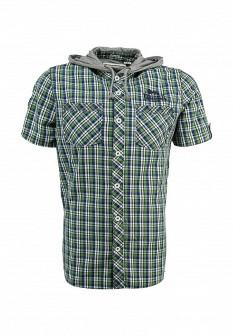 Мужская зеленая рубашка Lonsdale