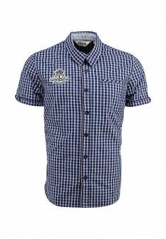 Мужская синяя рубашка Lonsdale