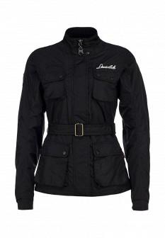 Женская черная куртка Lonsdale