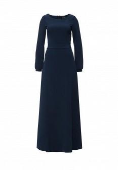 Синее осеннее платье LuAnn