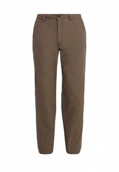 Мужские коричневые осенние утепленные брюки