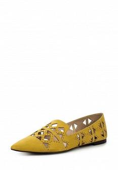 Женские коричневые осенние туфли