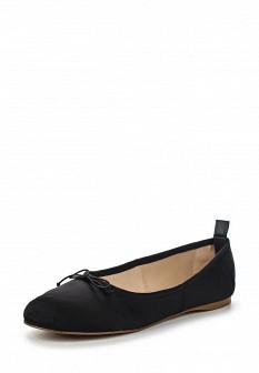 Женские черные осенние туфли