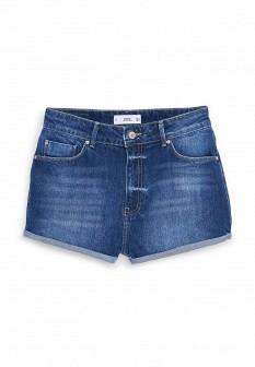 Женские синие осенние джинсовые шорты