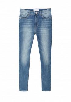 Женские голубые джинсы Mango