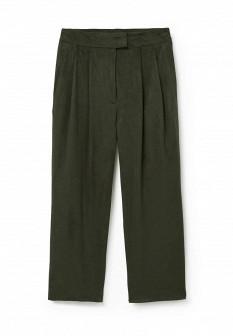 Женские зеленые брюки Mango