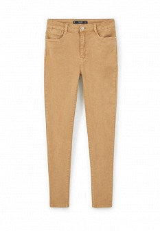 Женские коричневые брюки Mango