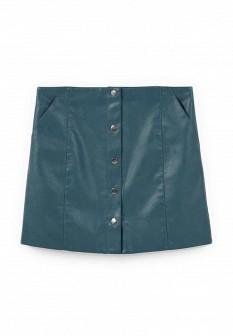 Зеленая юбка Mango