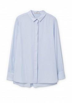 Голубая блузка Mango