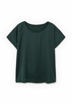 Женская зеленая футболка Mango
