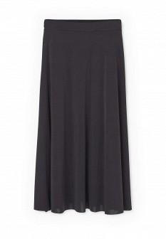 Черная испанская юбка Mango