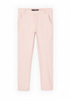 Женские розовые брюки Mango