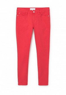 Женские красные брюки Mango
