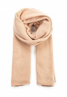 Женский розовый осенний коралловый летний шарф