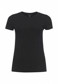 Женская черная футболка MAVI