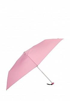 Женский розовый немецкий осенний складной зонт
