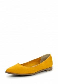Женские желтые туфли Marco Tozzi