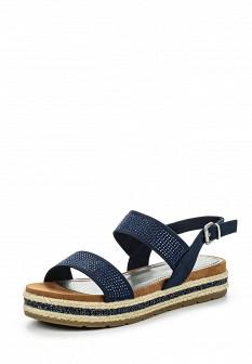 Женские синие сандалии