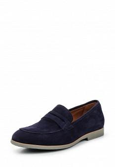 Мужские синие туфли лоферы Mascotte