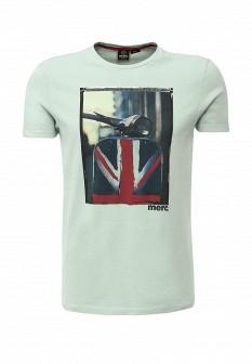Мужская мятная футболка MERC