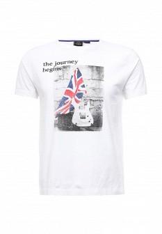 Мужская белая футболка MERC