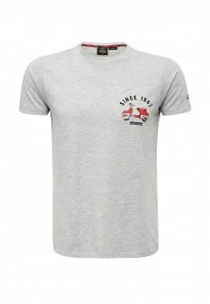 Мужская серая футболка MERC