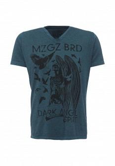 Мужская бирюзовая футболка Mezaguz